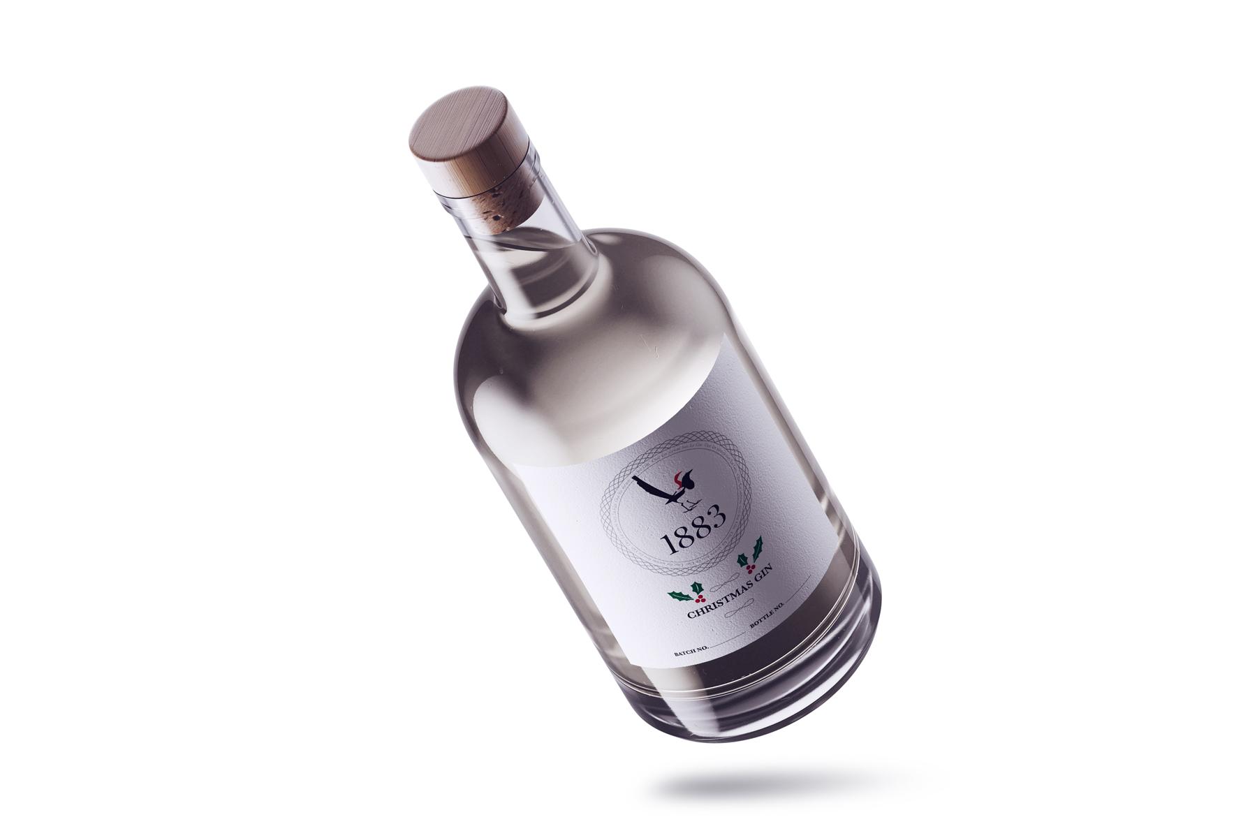 1883 christmas gin