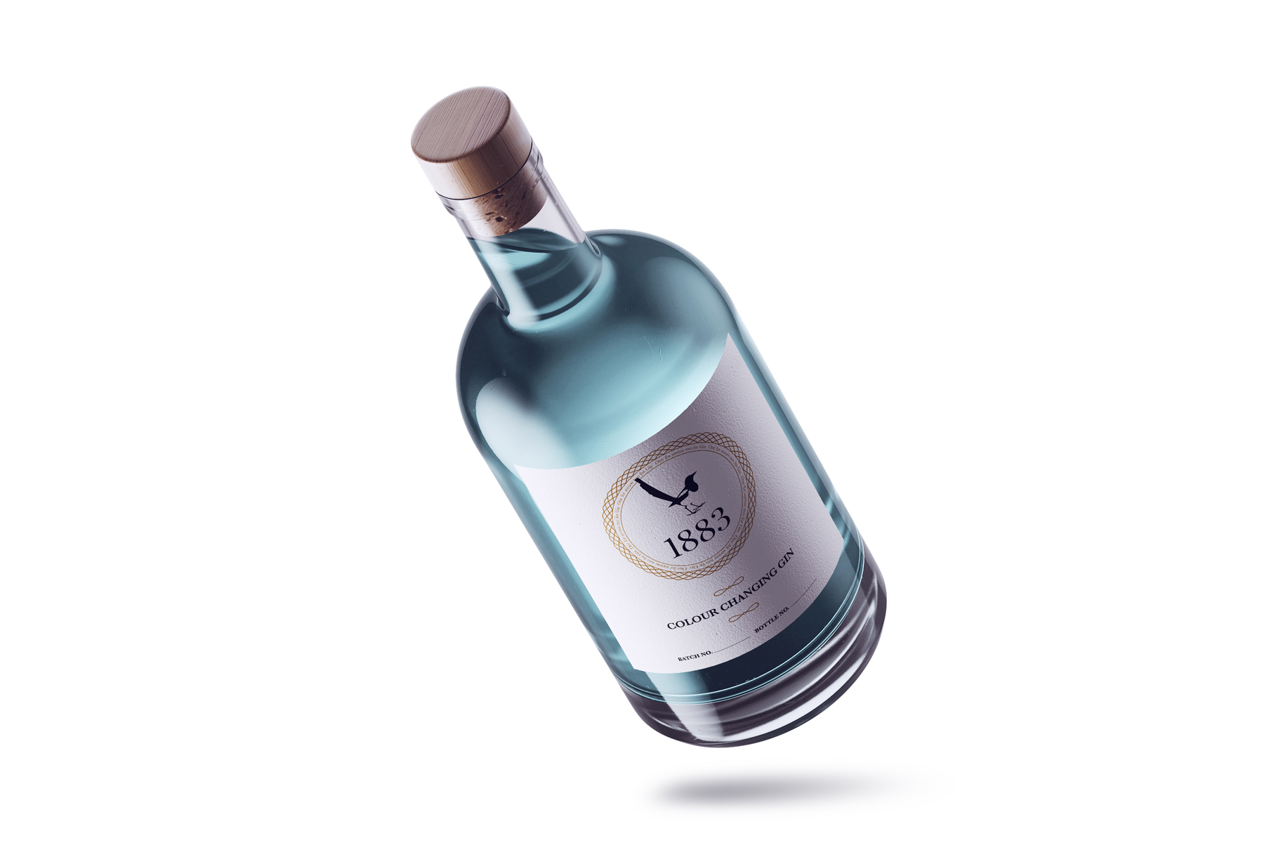 1883 colour changing gin