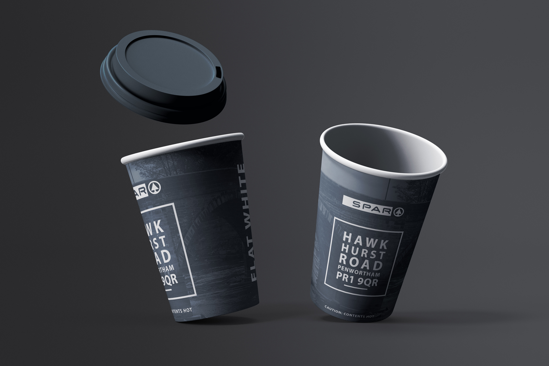 spar hawkhurst road coffee cups