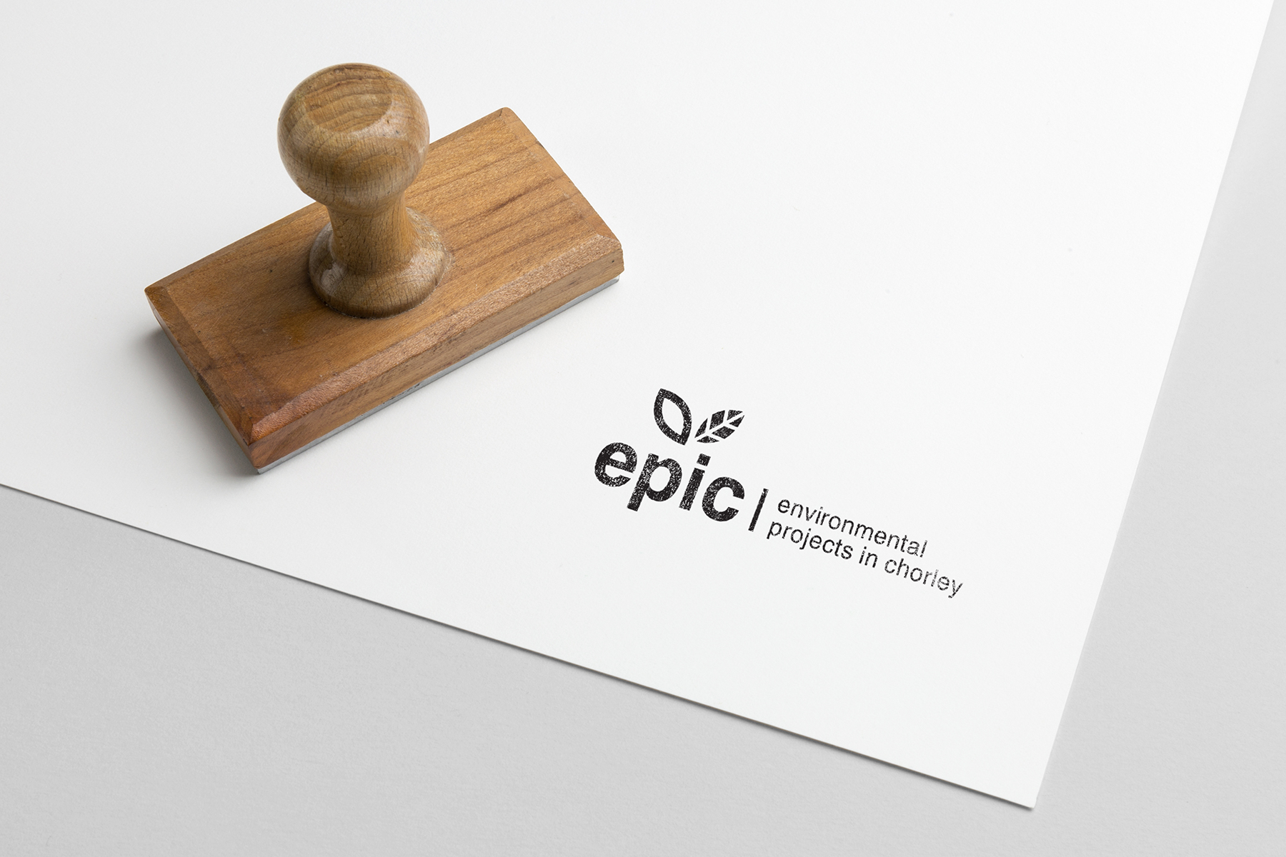 epic logo stamp