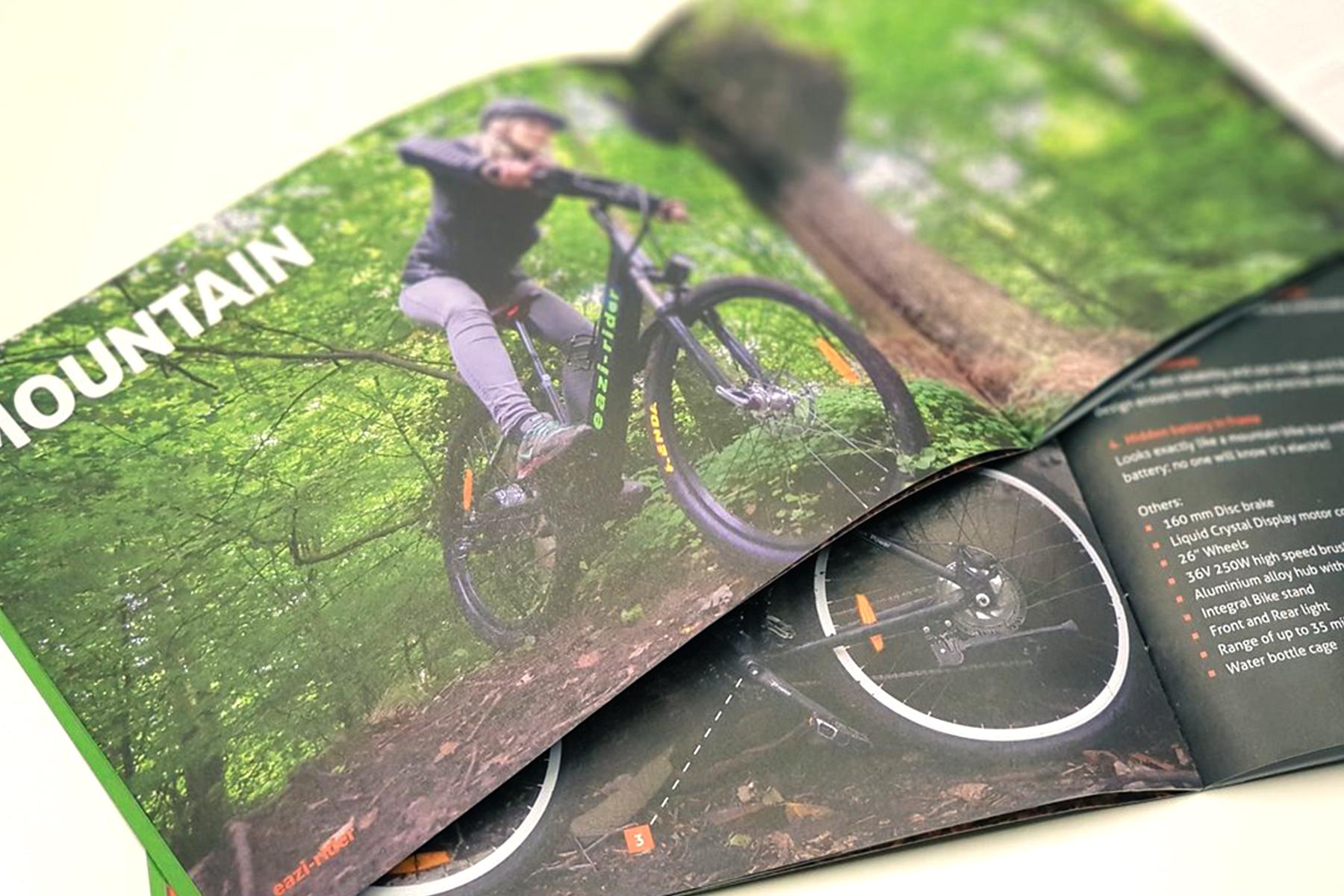 Eazi-rider Brochure Design