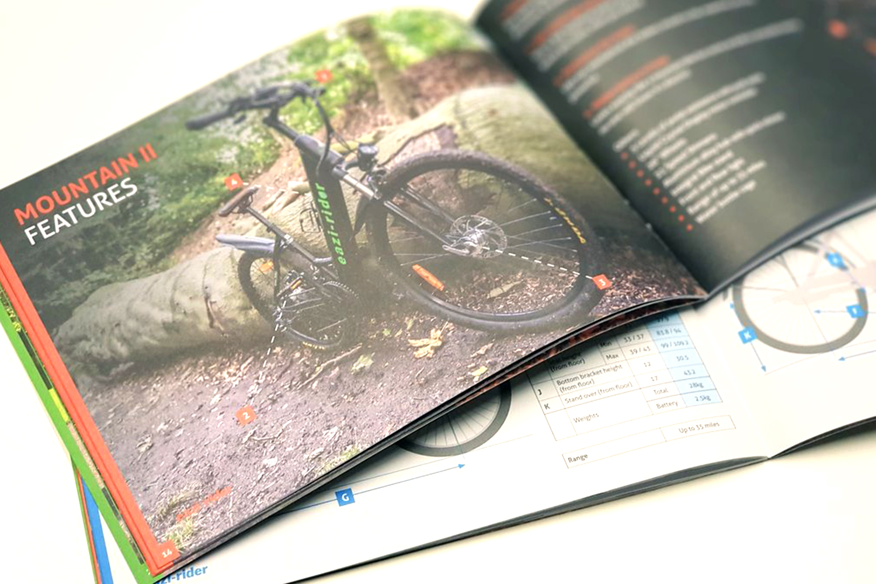 Eazi-rider Brochure Design Inside
