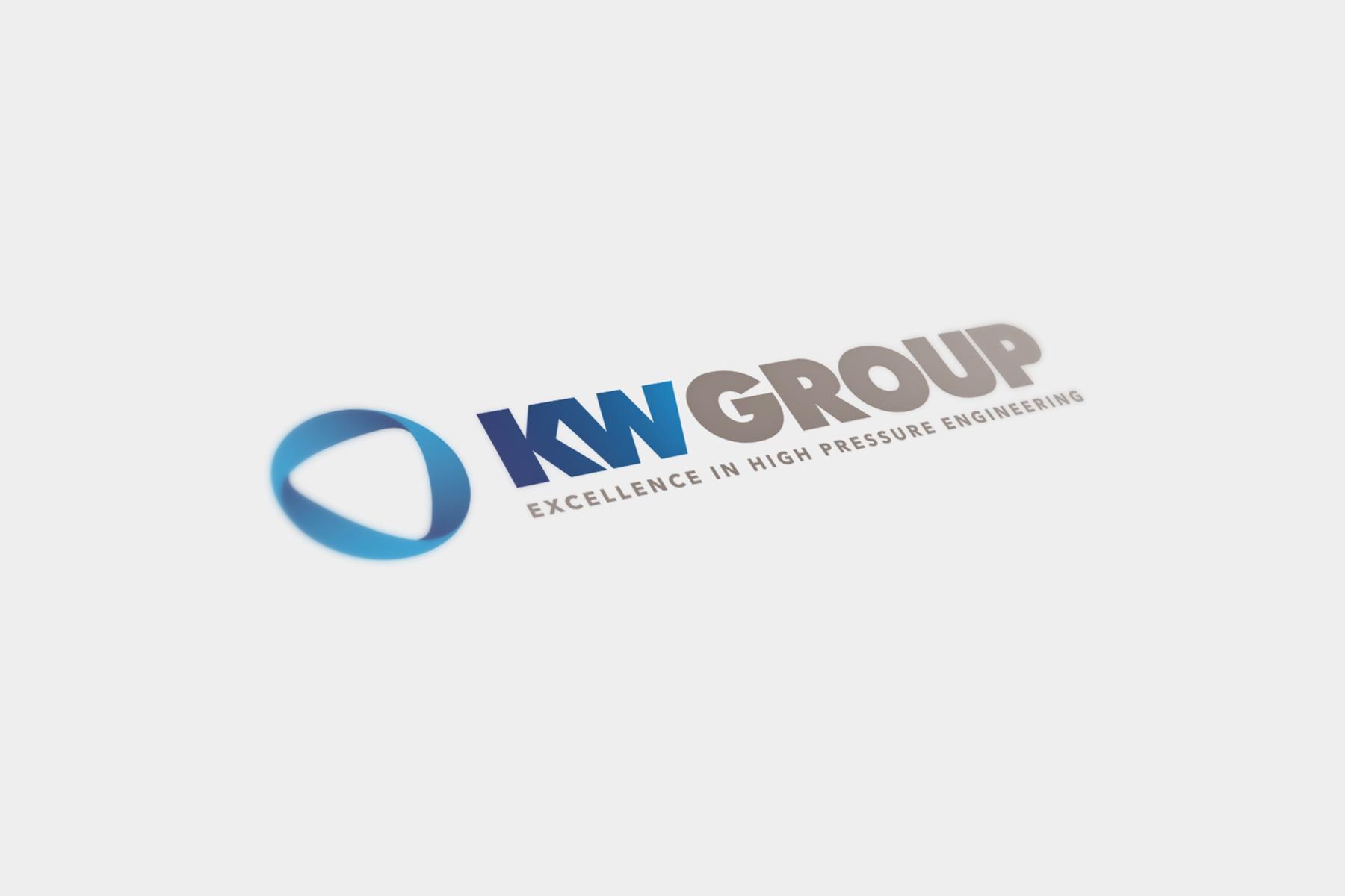 KW Group logo mock-up