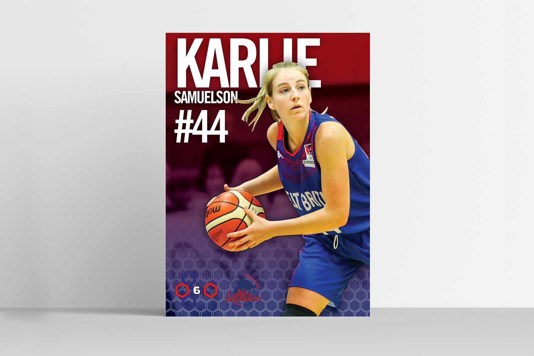 GB womens basketball team poster