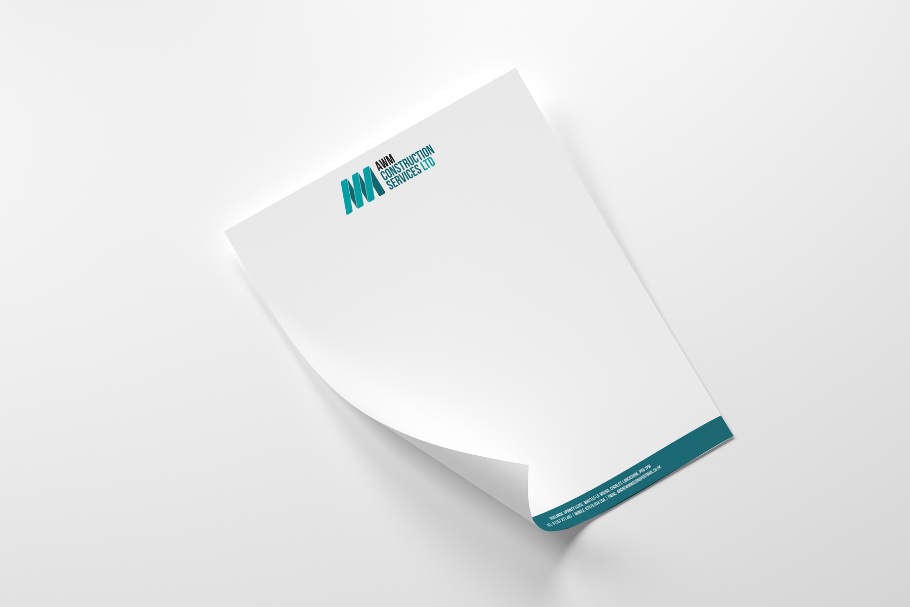 awm construction letterhead