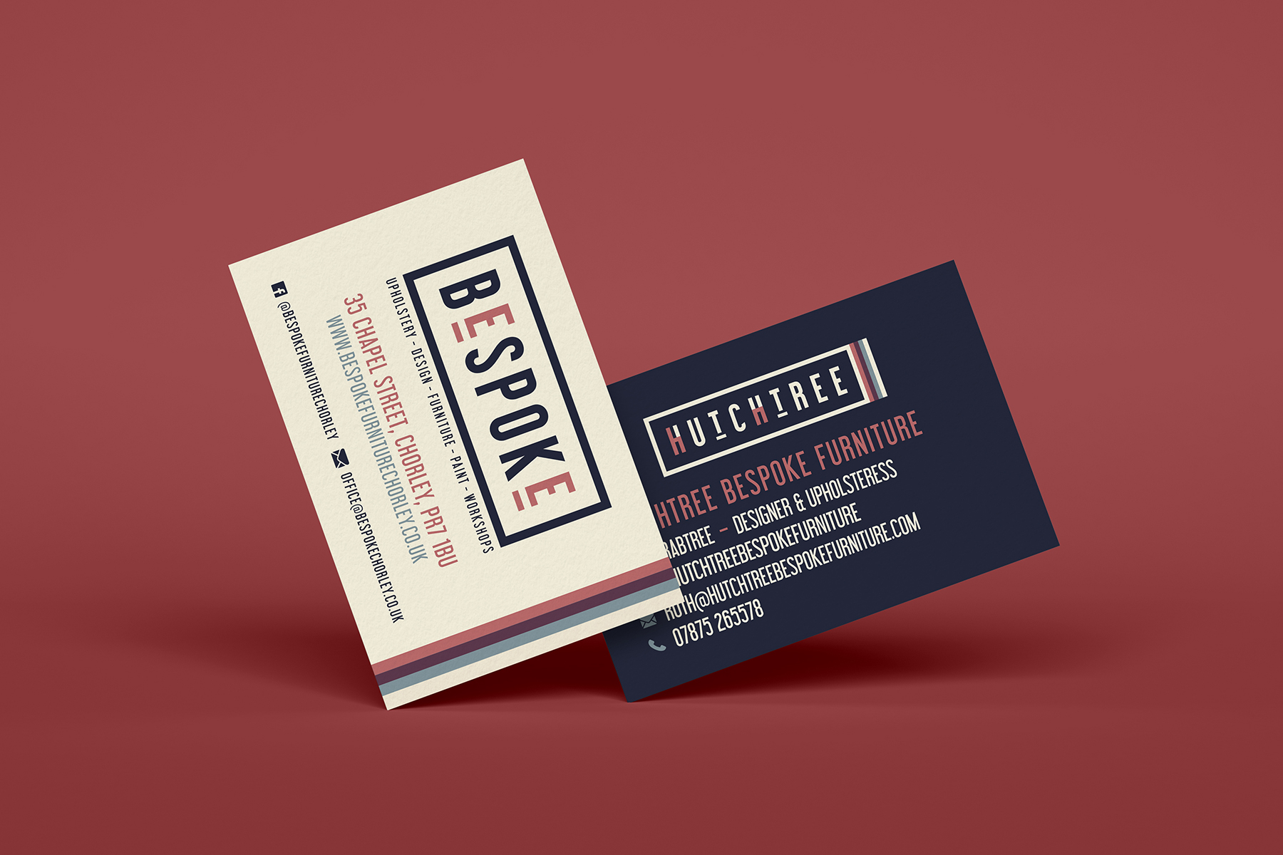 bespoke - hutchtree business cards