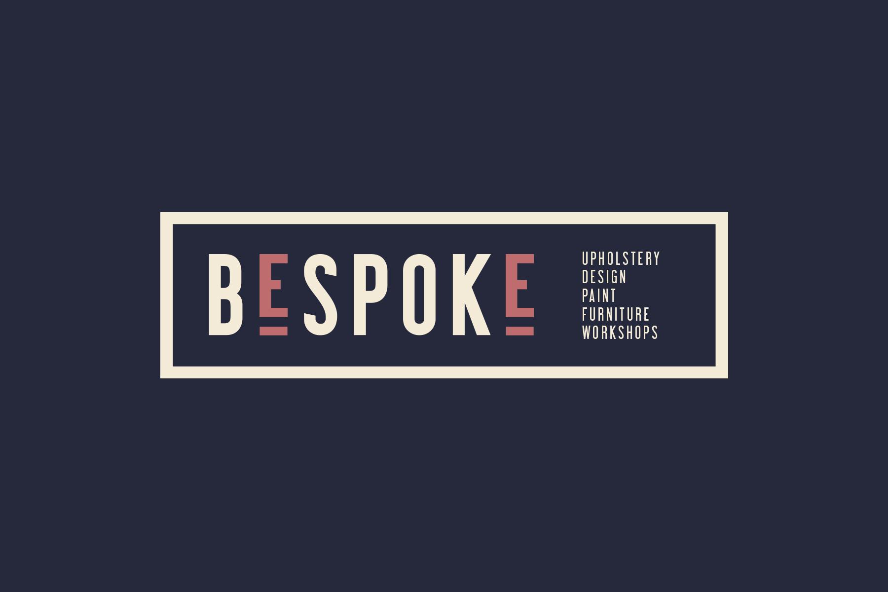bespoke logo navy