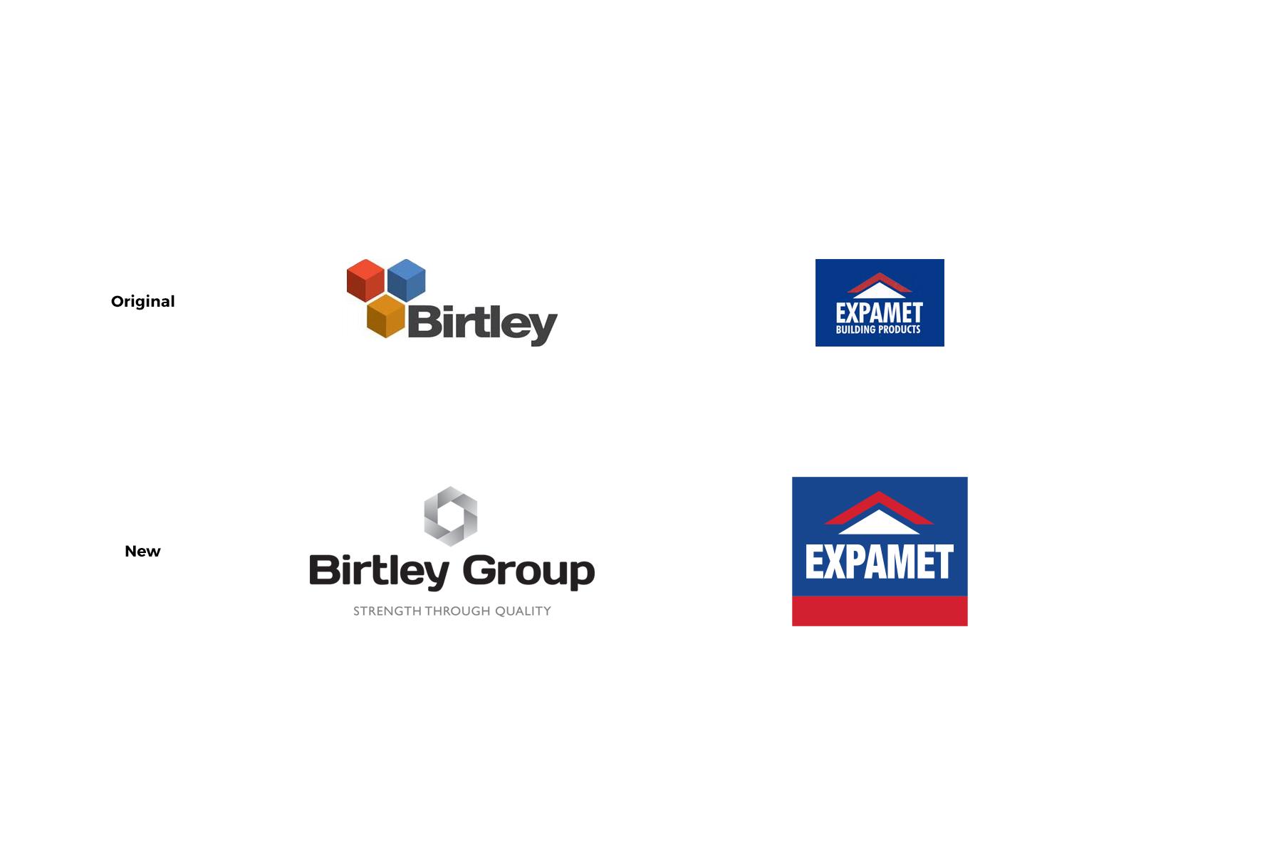 birtley and expamet logos