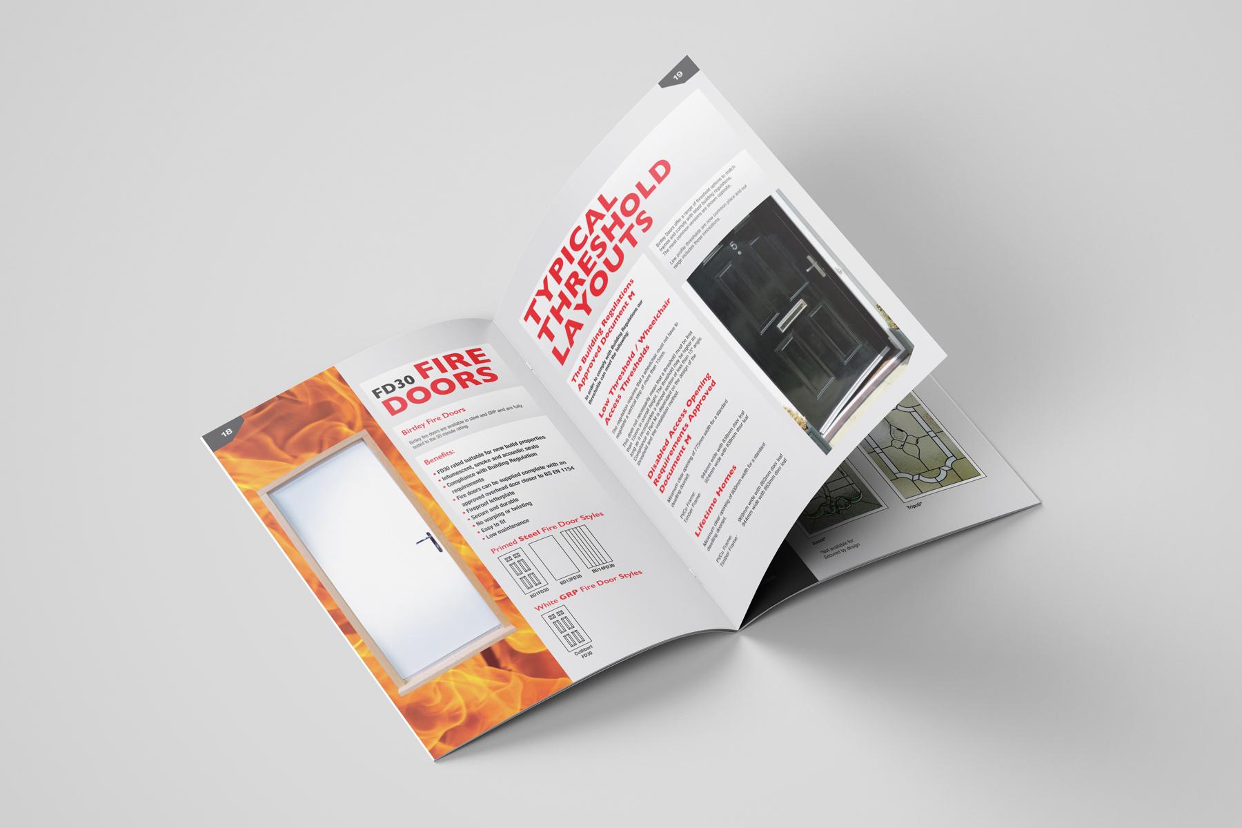 birtley door collection brochure