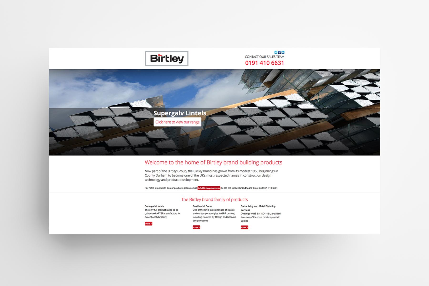 Birtley Group website
