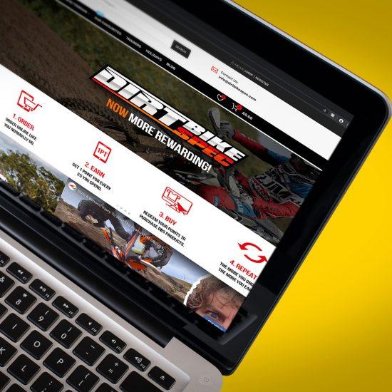 dirt bike spec home page