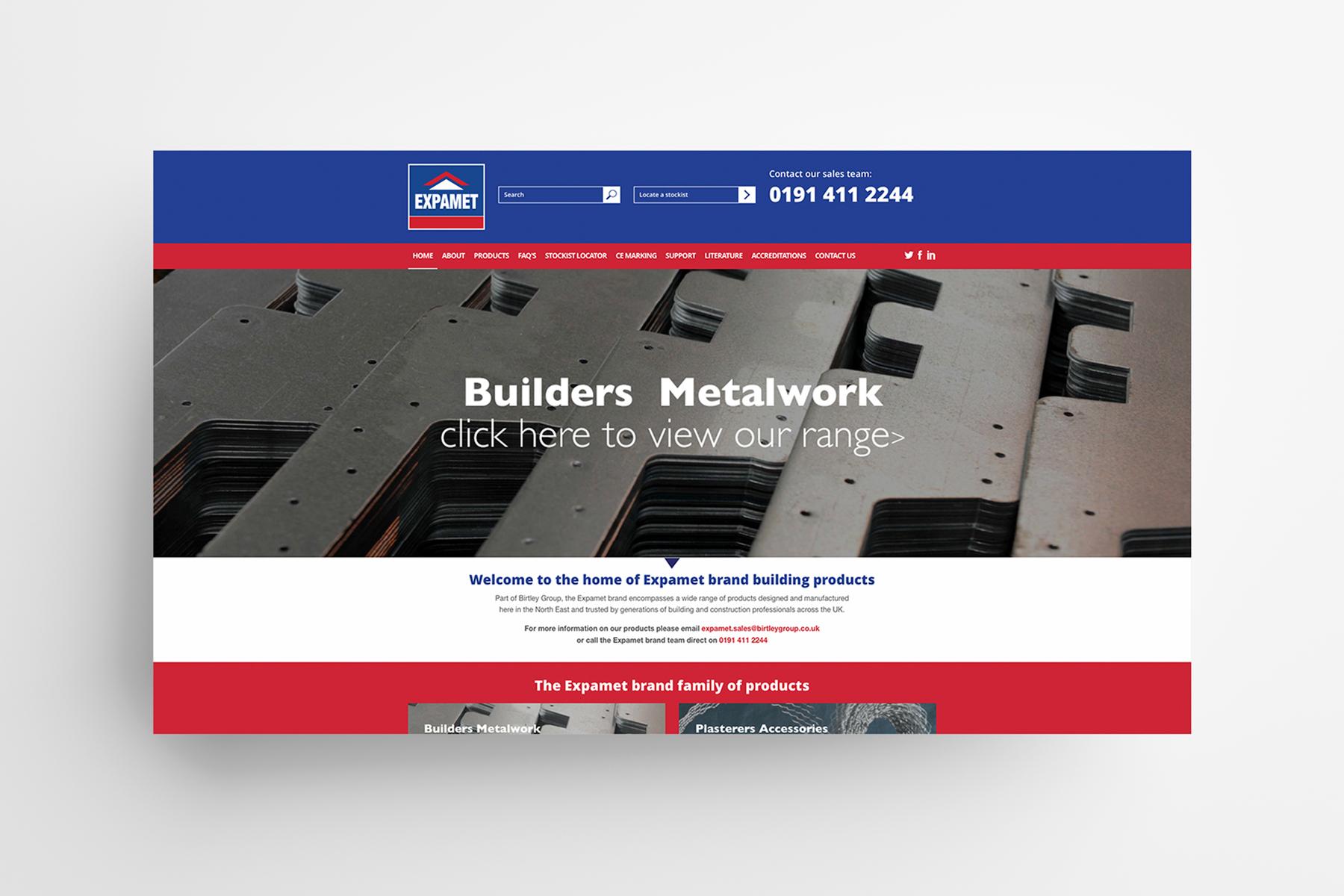 Expamet, Birtley Group Web Home page