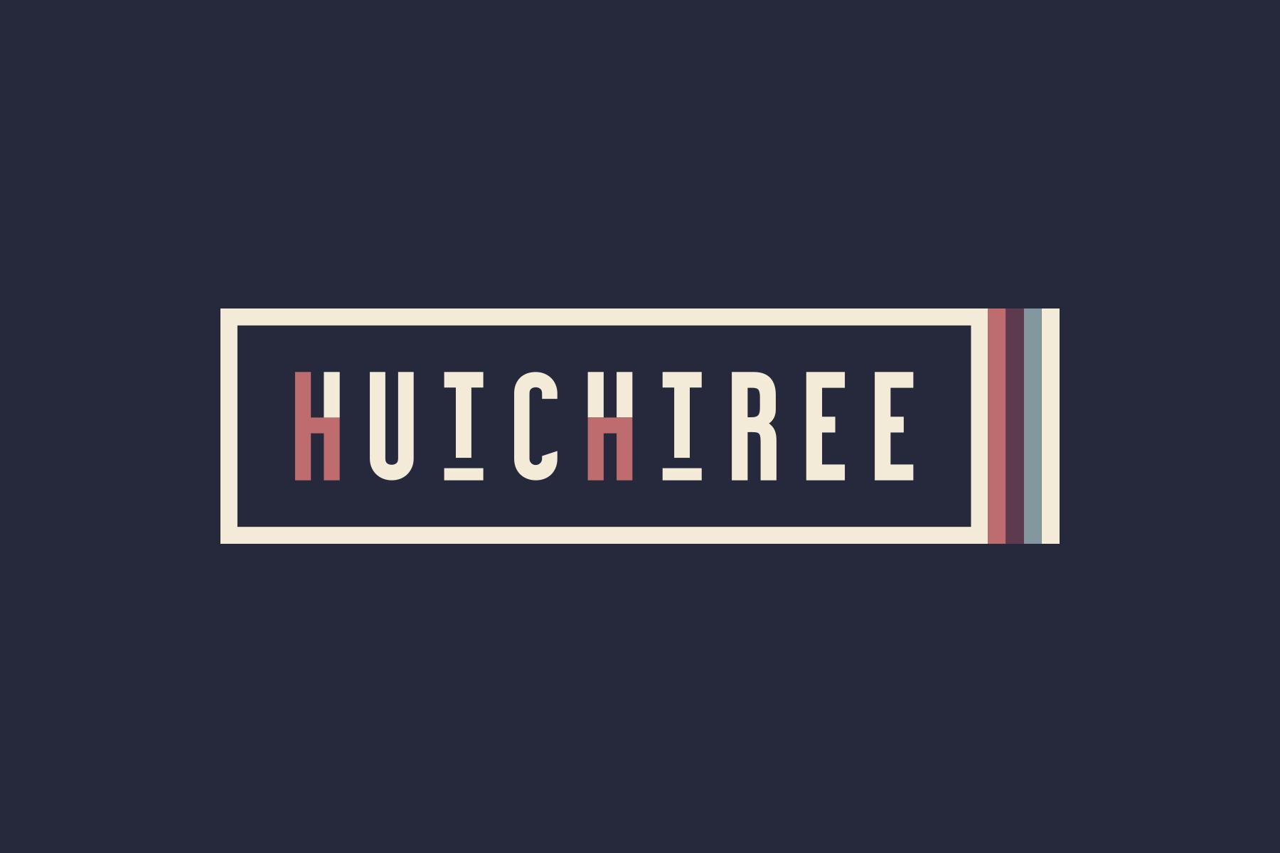 hutchtree logo navy