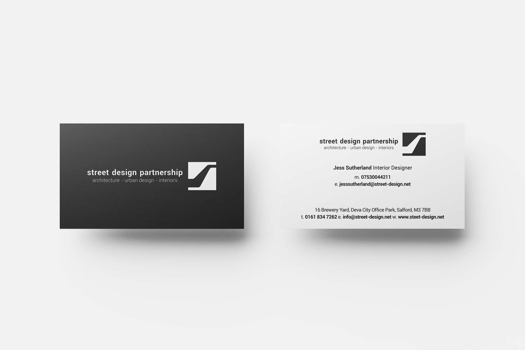 street design partnership business card